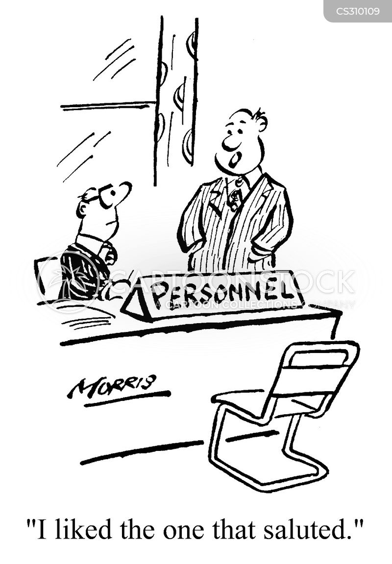 obsequious cartoon