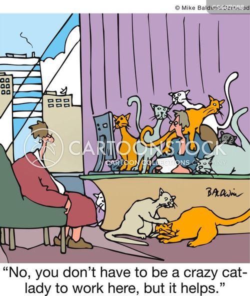 cat woman cartoon