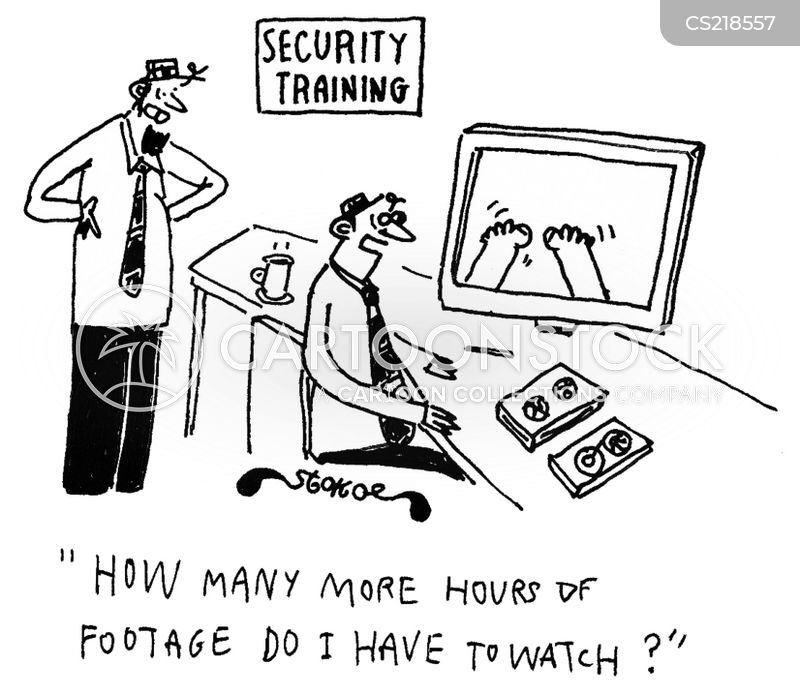 surveillance tv cartoon