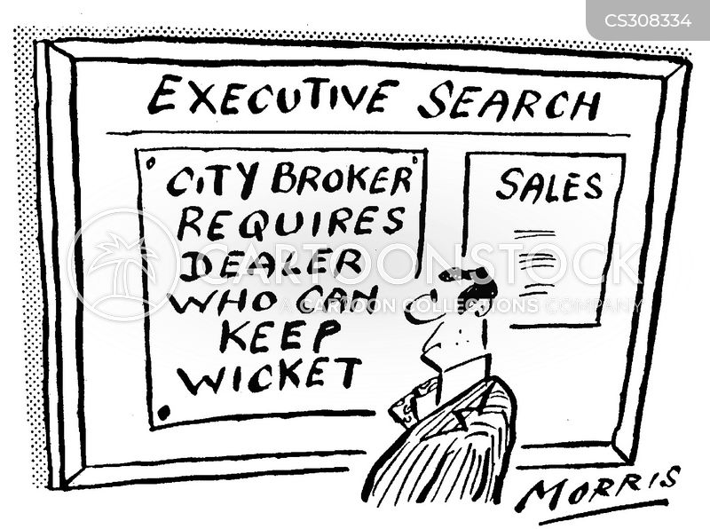 broking cartoon