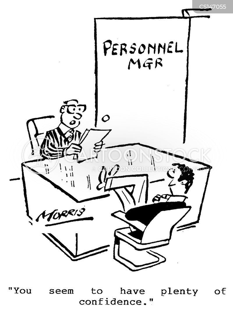 personnel managers cartoon