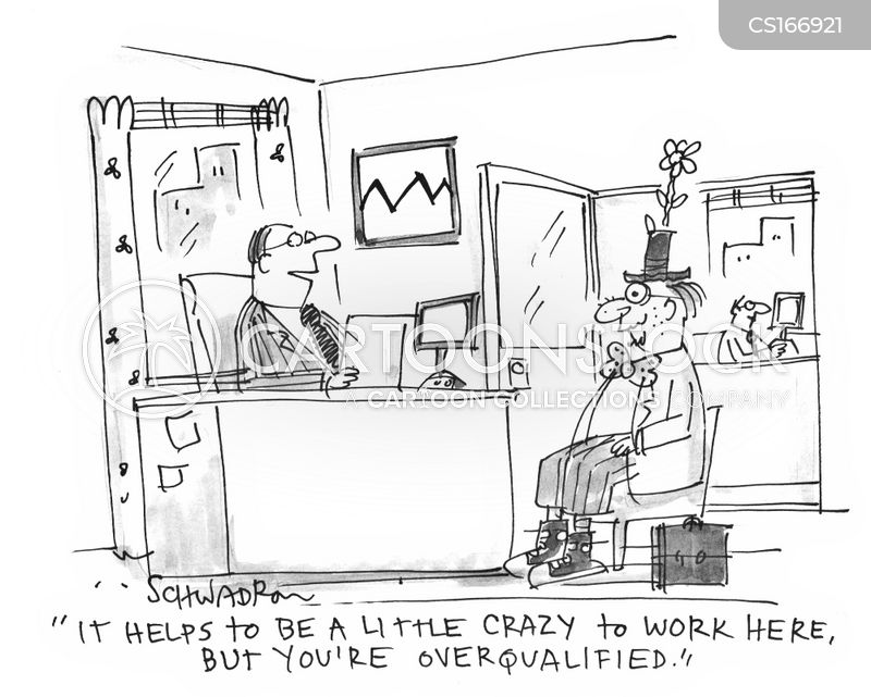 job applicant cartoon