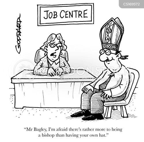 clergymen cartoon