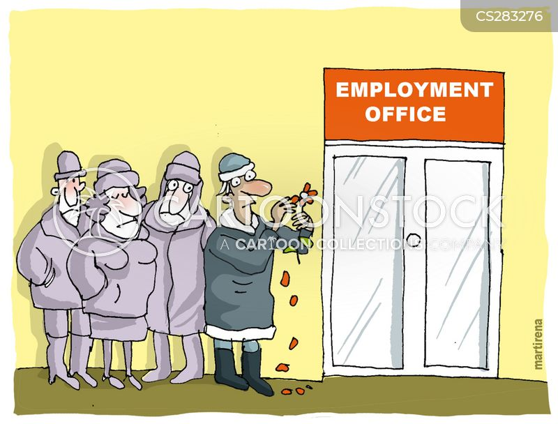 unemployment office cartoons and comics funny pictures