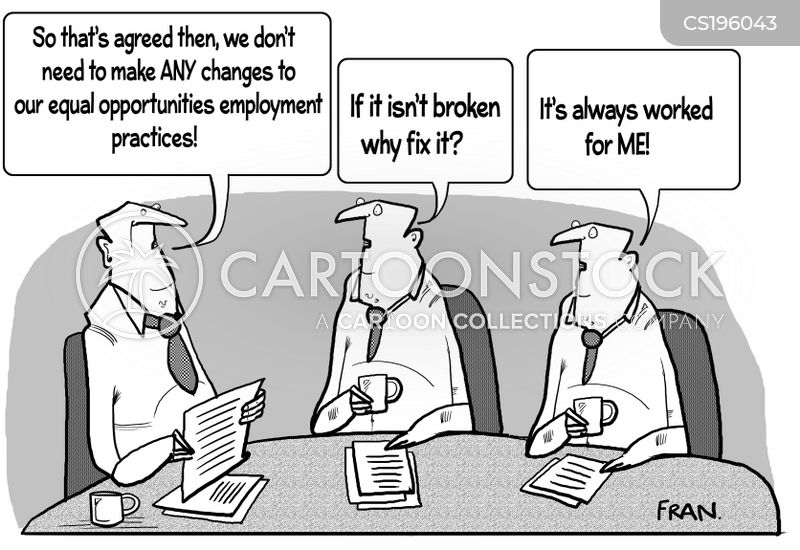 employment practice cartoon
