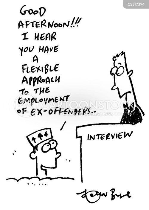 ex-offenders cartoon