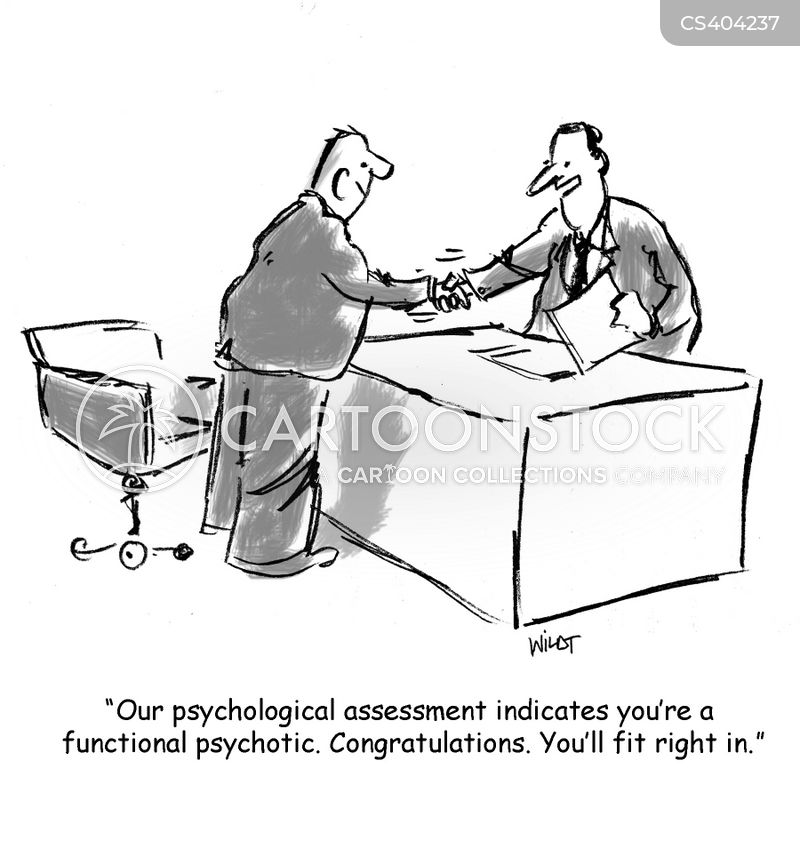 Psychological Tests Cartoons and Comics - funny pictures