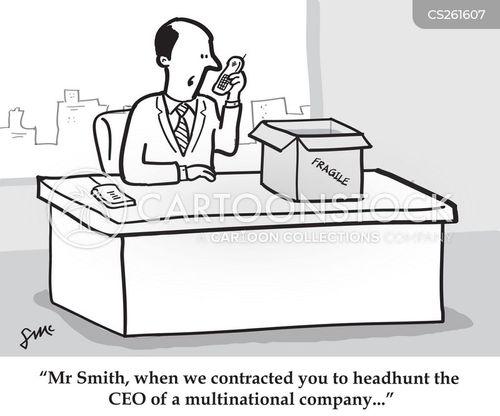 head-hunters cartoon