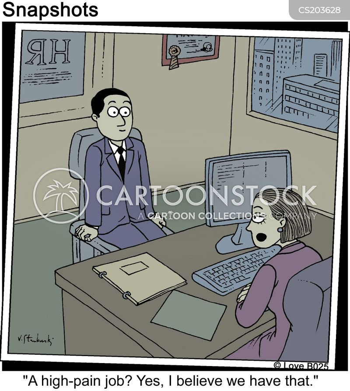 salaried cartoon
