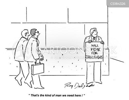 challenged cartoon