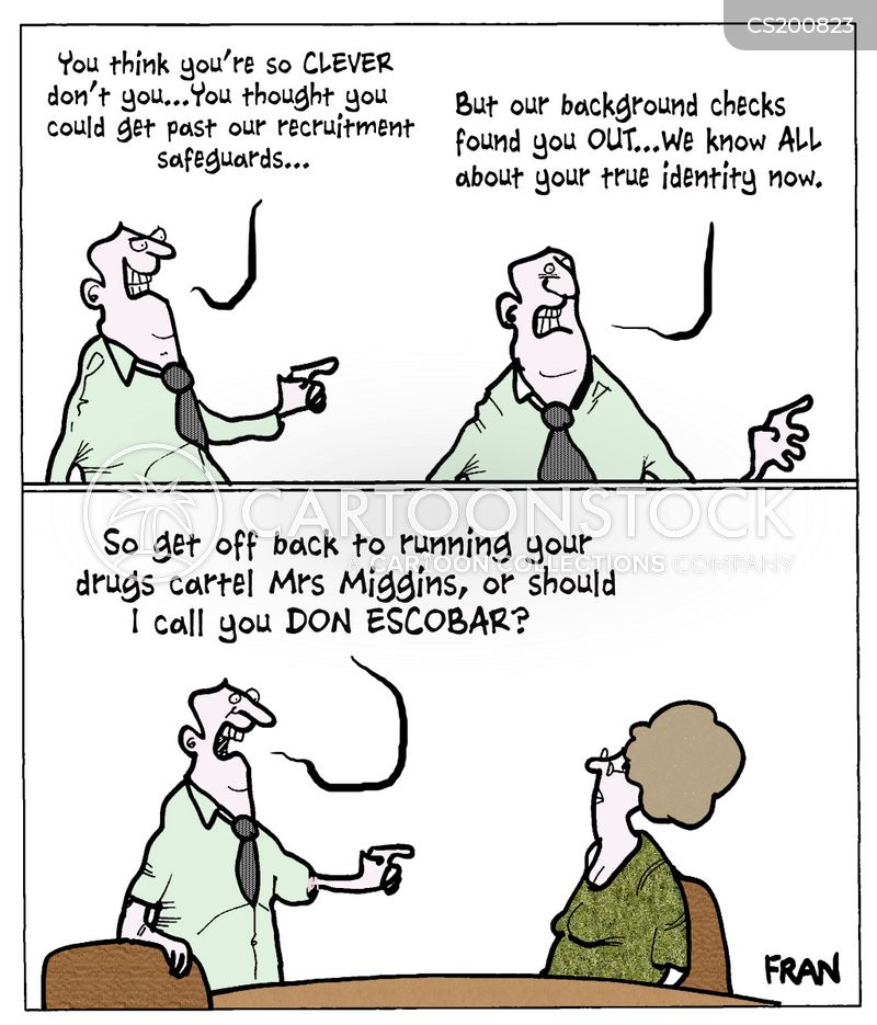 background checks cartoon