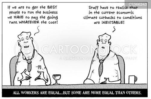 economic climate cartoon