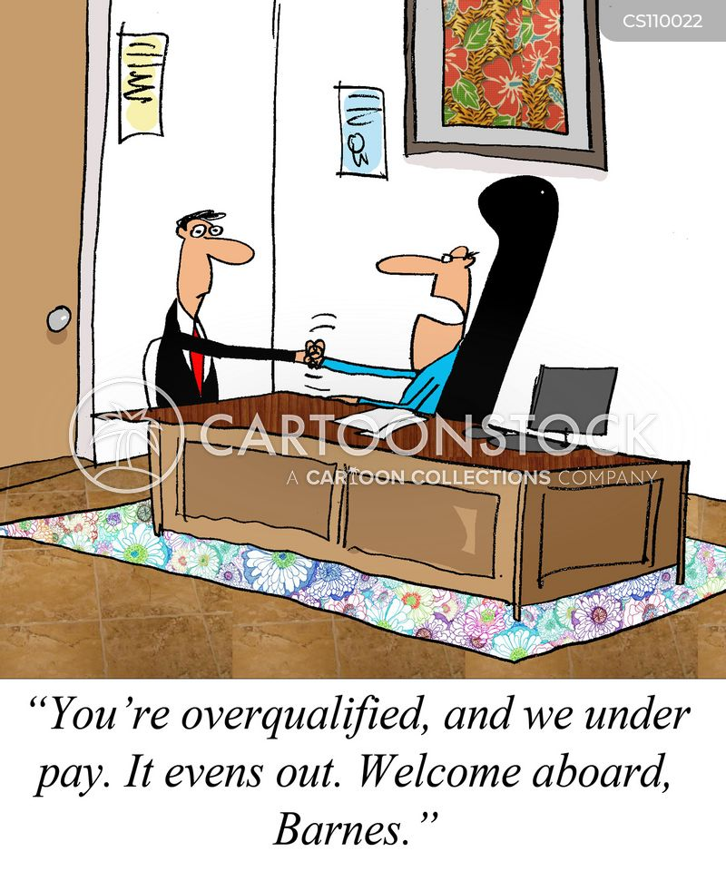 underpay cartoon