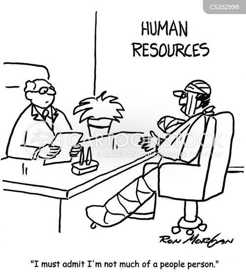 people skill cartoon