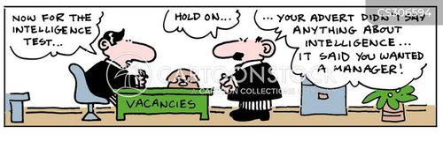 intelligence tests cartoon