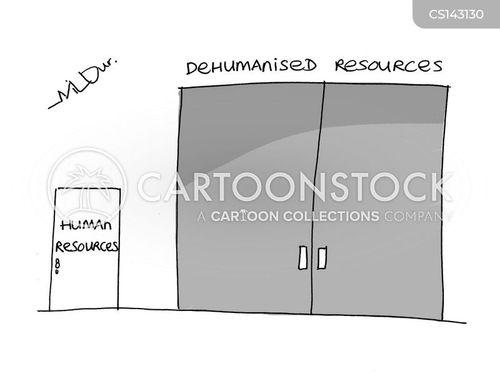dehumanised cartoon