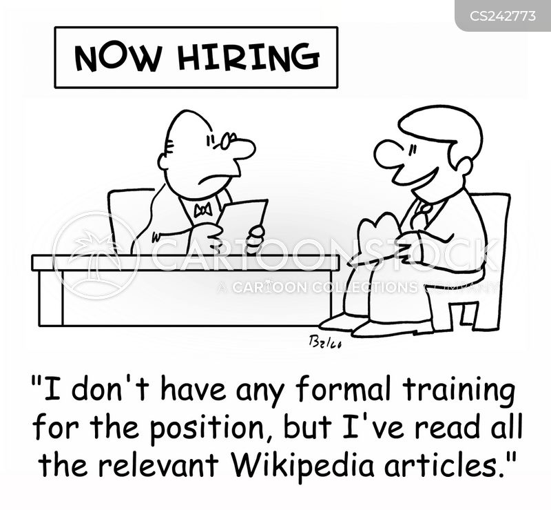 online article cartoon