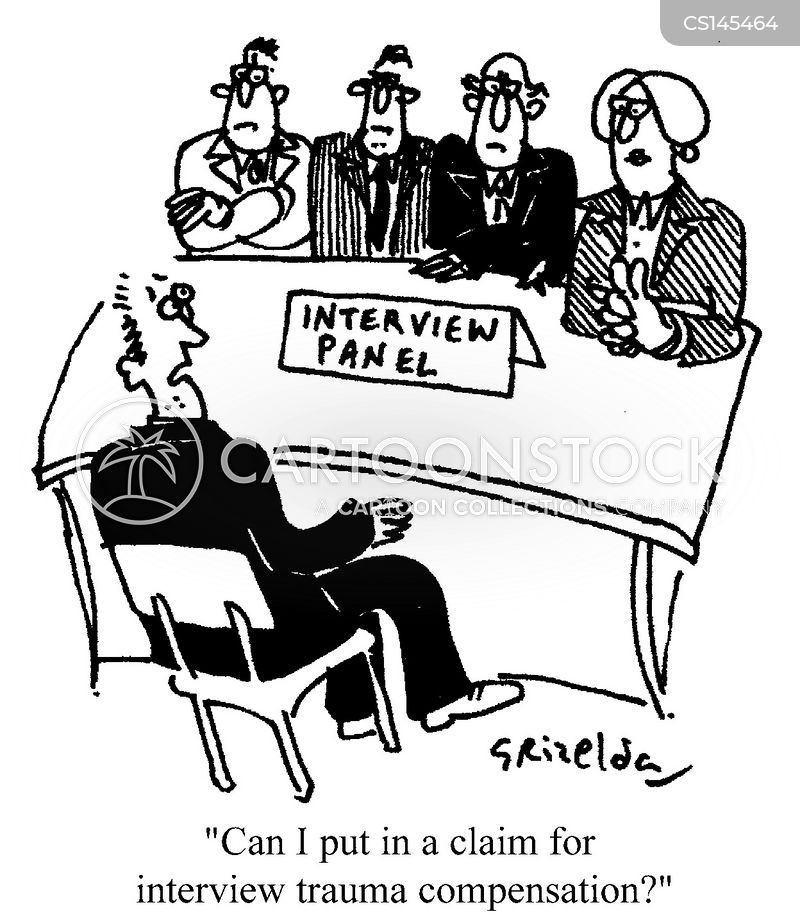 compensation claim cartoon