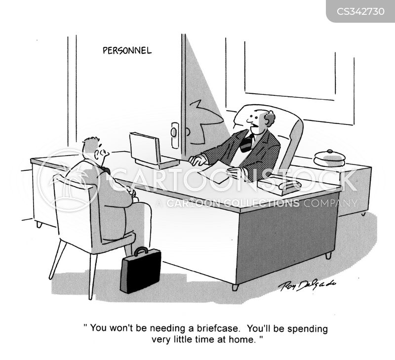 at the office cartoon