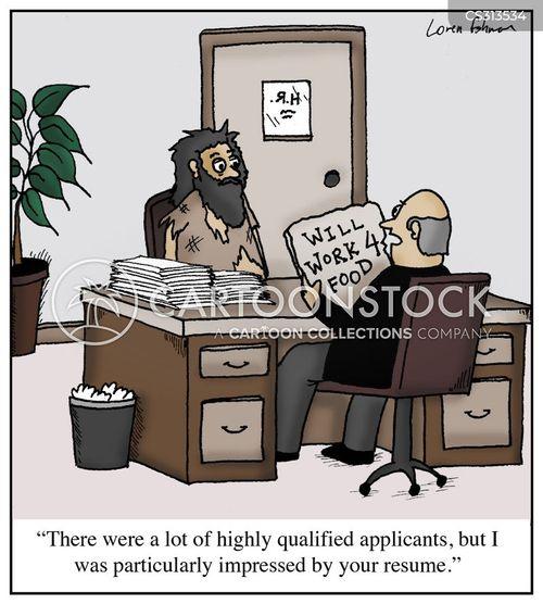 credentials cartoon