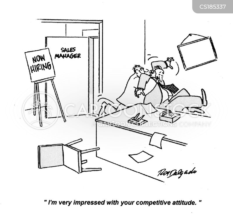 competes cartoon