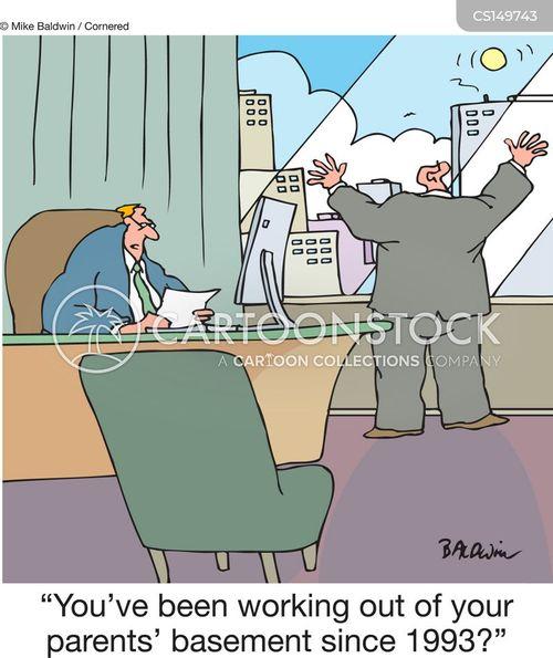 startups cartoon