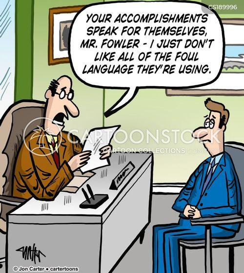 foul language cartoon