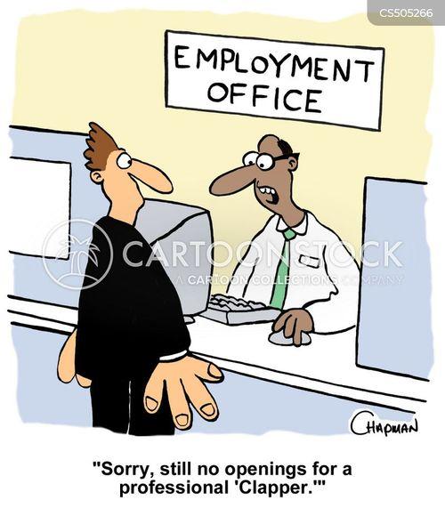 employment offices cartoon