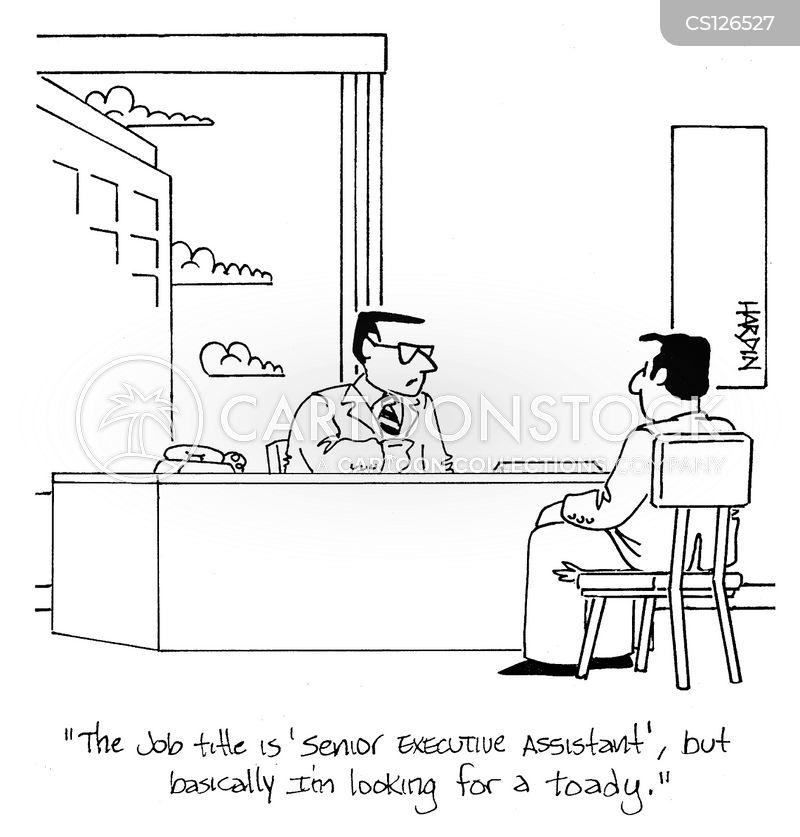 Executive Cartoon: Senior Executive Assistants Cartoons And Comics