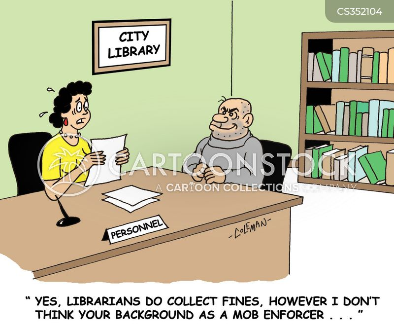 collection agent cartoon 1 of 4