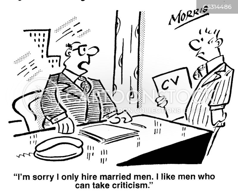 recruitment policy cartoon