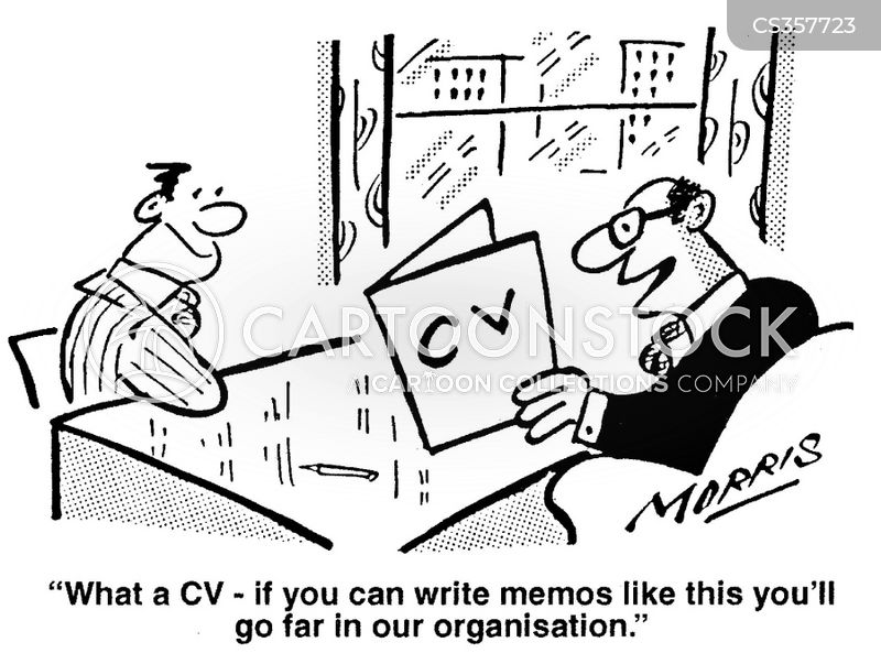 curriculum vitaes cartoons and comics funny pictures from cartoonstock