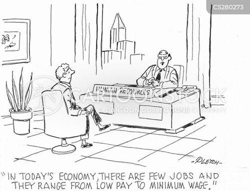 pay scale cartoon