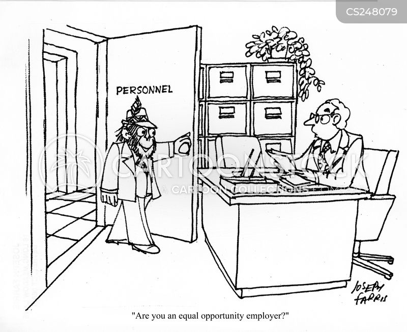 recruitment agencies cartoon