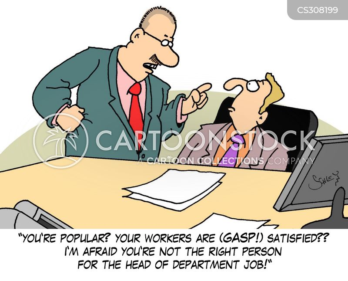 Job Reviews Cartoons and Comics - funny pictures from CartoonStock