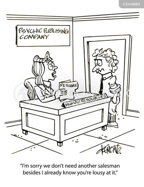 extrasensory perception cartoon