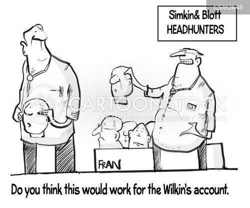 recruits cartoon