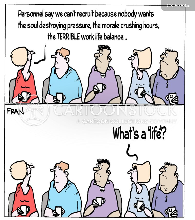 private life cartoon