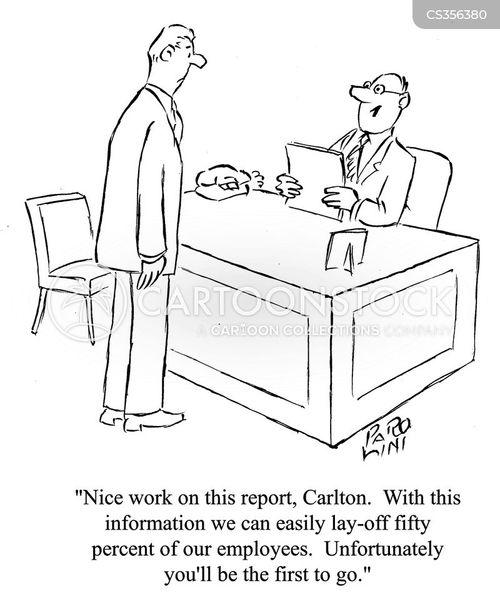 being made redundant cartoon