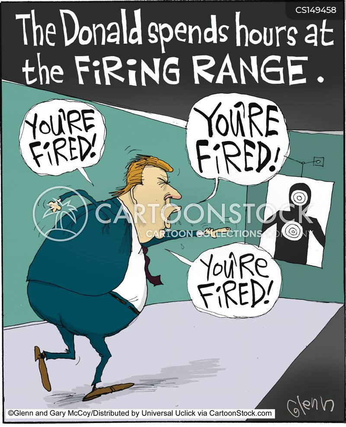shooting range cartoon