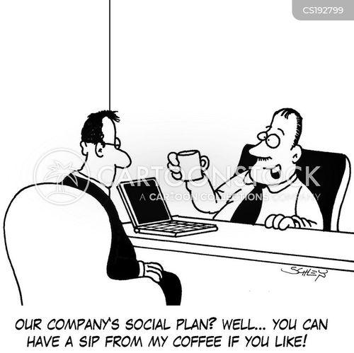 socialized cartoon
