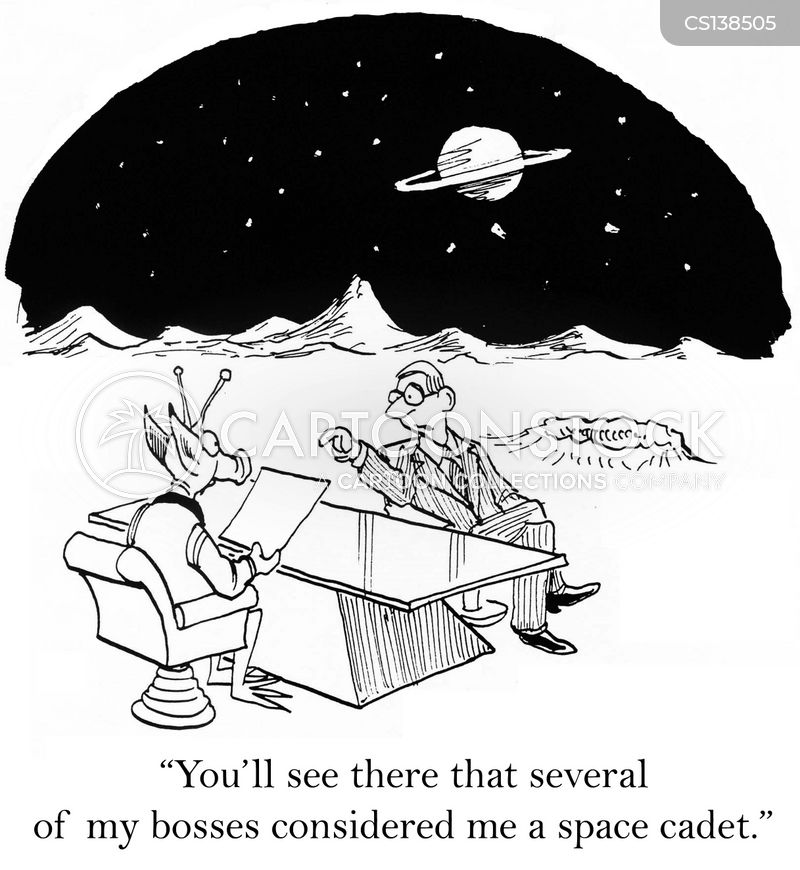 space cadet cartoon