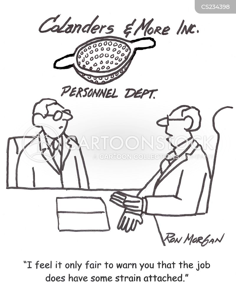colanders cartoon