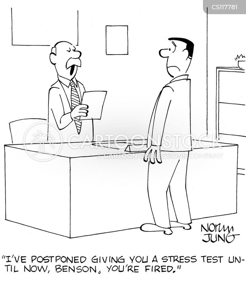 Stress Test Anxiety: Stress Test Cartoons And Comics