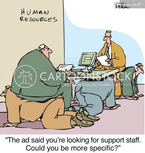 finding a job cartoon