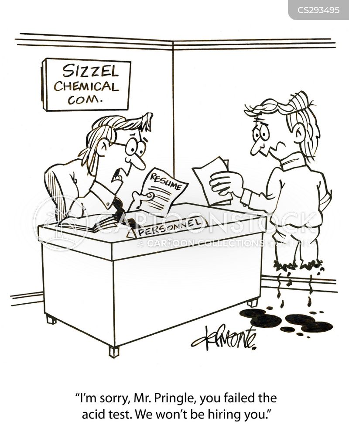 chemical company cartoon