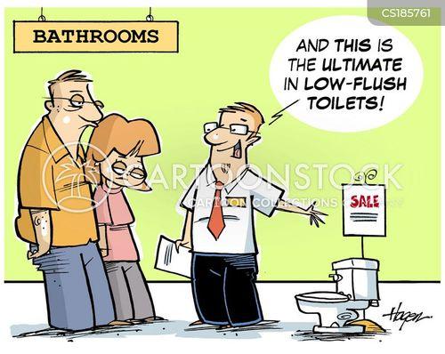 flushing cartoon