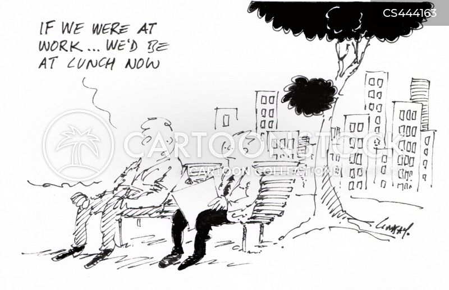 job hunts cartoon