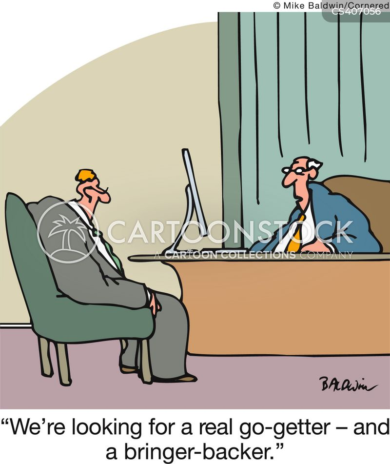 go-getters cartoon