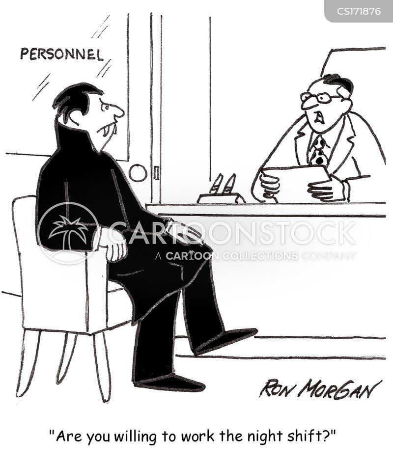 job hunt cartoon